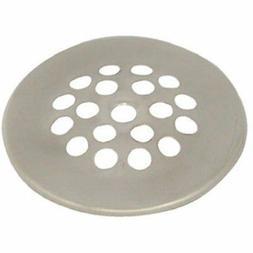 DANCO Rust-Resistant Shower Drain Strainer, Brushed Nickel,