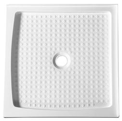 "36"" x 36"" Double Threshold Shower Base - White - Titan Serie"