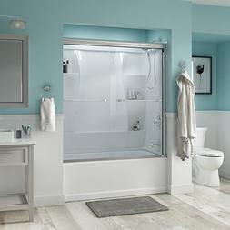 "Delta Shower Doors SD3276592 Windemere 60"" Semi-Frameless Tr"