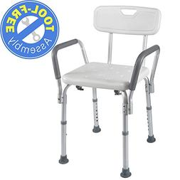 SECURE Bathtub Lift Chair With Arms Shower Seat For Injury O