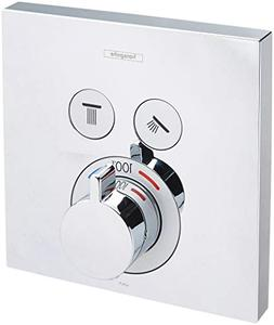 Hansgrohe 15763001 Thermostatic Trim 2 Function Finish, Smal
