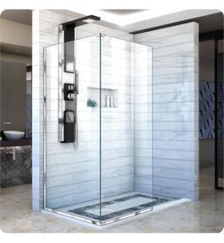 DreamLine SHDR-3234303-04 Linea Shower Door 2 Panels 30 & 34