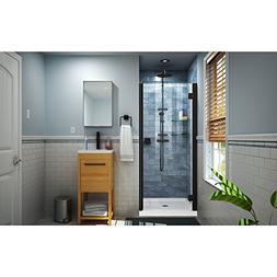 DreamLine SHDR-5334660-09 Lumen Shower Door, Satin Black