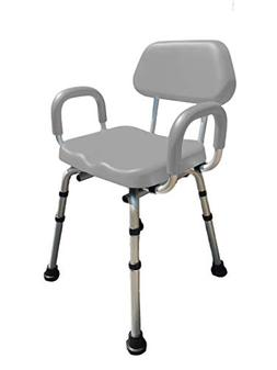 Shower Chair, Bath Chair, Padded with Armrests, Comfortable