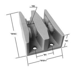 Shower Door Guide for Frameless Sliding Glass Shower Doors u