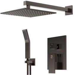 SR Sun Rise Shower Faucet System 10''Venetian Bronze Finish