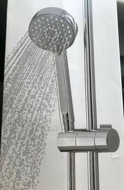 KOHLER Shower Head 3 Spray Slide Bar Kit Bathroom Wall Vibra