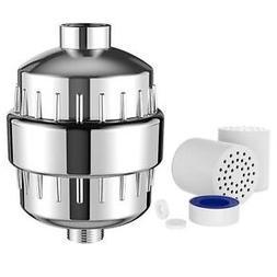 Shower Head Filter Purifier Softener Hard Water Chlorine Rem