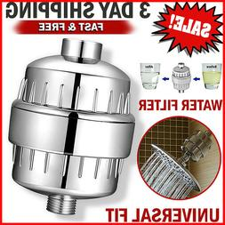 shower head filter water softener for hard