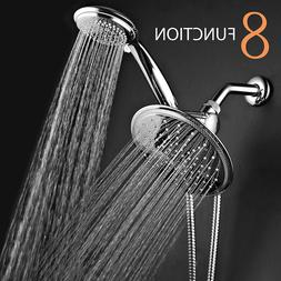 Shower Head Hand Held High Pressure Double Chrome Detachable