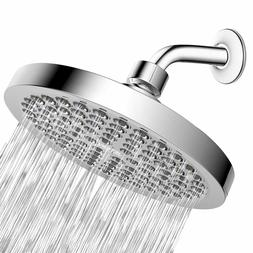 Shower Head High Pressure Universal Rain High Flow Fixed Lux