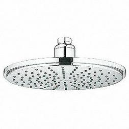 GROHE Shower Head,Metal/Plastic,2.50 gpm Flow, 28373000