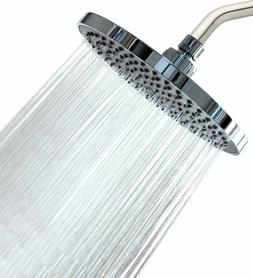 "Shower Head - Rainfall High Pressure 8"" - Rain High Flow F"