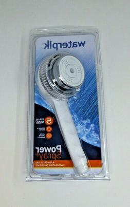 Waterpik Shower Head, 5Setting HandHeld Original Powerspray