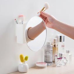 Shower Mirror Bathroom Travel Make Up Mirror With Adjustable