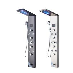 Shower Panel Tower LED Rainfall& Waterfall With Massage Syst