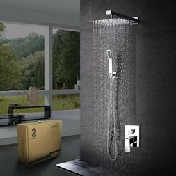 Shower Rainfall Shower Bathroom Luxury Rain Mixer Combo Set