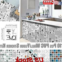 Shower Room Wall Art Mural Waterproof Sticker Wall Sticker K