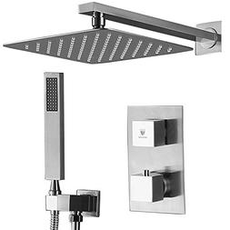 HIMK Shower System with High Pressure Rainfall Shower Head,