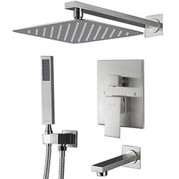 Esnbia Shower System, Shower Faucet Set with Tub Spout and 1