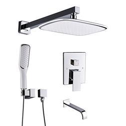 Artbath Shower System,Shower Faucet Set with Tub Spout and P