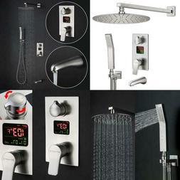 Charmingwater Shower System,Shower Faucet Set With Tub Spout
