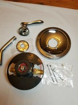 Peerless Shower valve Assembly New. Chrome finish.
