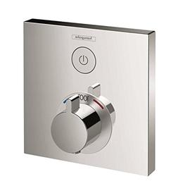 Hansgrohe ShowerSelect E Thermostatic Trim 1 Function Square