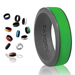 UROKAZ - Silicone Wedding Ring, The Only Ring That Fits Your