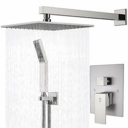 SR SUN RISE Single Function Shower System Rain Mixer Combo W