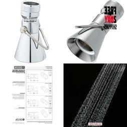 Delta Faucet Single-Spray Shower Head, Chrome 52650-Pk