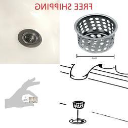Sink Strainer Basket Hair Catcher Drain Protector for Bathro