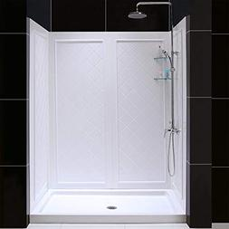 DreamLine DL-6191C-01 SlimLine 34 x 60 Shower Base Center &