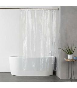 "SOLID 70"" x 72"" BATHROOM SHOWER CURTAIN VINYL PLASTIC MAGNET"