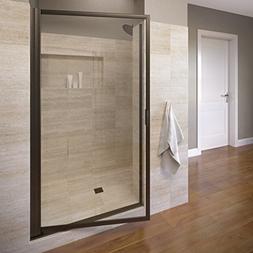 Basco Sopora 32.75- 34.5 in. Width, Pivot Shower Door, AquaG