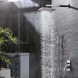 Rozin 12 Inch Bathroom Luxury Rain Shower Combo Set Shower S