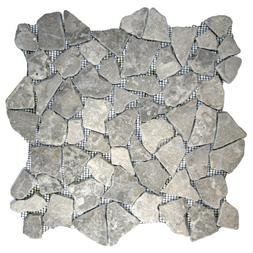 Stone Grey Mosaic Tile 1 sq.ft.