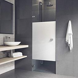 VIGO Tempo 28 to 28.5-in. Adjustable Frameless Shower Door w