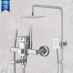 The new square <font><b>shower</b></font> 304 stainless stee