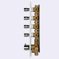 Thermostatic Shower Parts 4-Function Vertical Shower Valve w