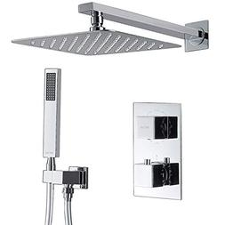 Esnbia Thermostatic Shower Systems, Shower Faucet Set with 1