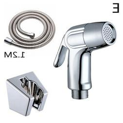 Toilet Adapter Spray Handheld Bidet Shower Head Wall Bracket