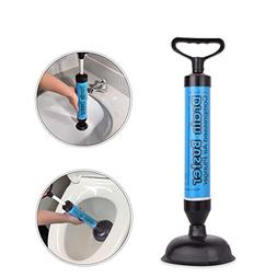 Samshow Toilet Plunger, Powerful Manual Multi Drain Plunger