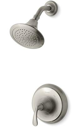 Kohler K-TS10276-4-BN Forte Sculpted Rite-Temp Shower Valve