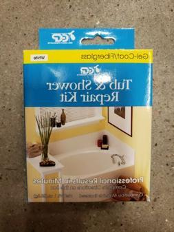 Tub and Shower Repair Kit Works with Gel-Coat Fiberglass Tub