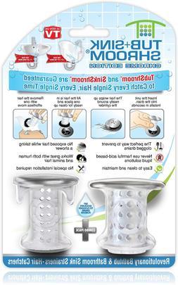 TubShroom and SinkShroom Drain Protectors Hair Catchers for