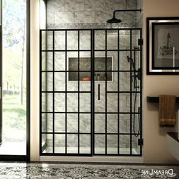 DREAMLINE UNIDOOR TOULON 58-58 1/2 x 72 PIVOT SHOWER DOOR 3/