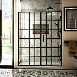 DREAMLINE UNIDOOR TOULON 58-58 1/2 x 72 PIVOT SHOWER DOOR 3/