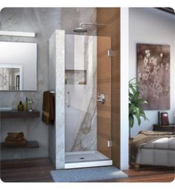 DreamLine Unidoor 30 in. Width, Frameless Hinged Shower Door