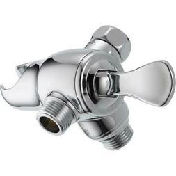Universal Showering Components 3-Way Shower Arm Diverter wit